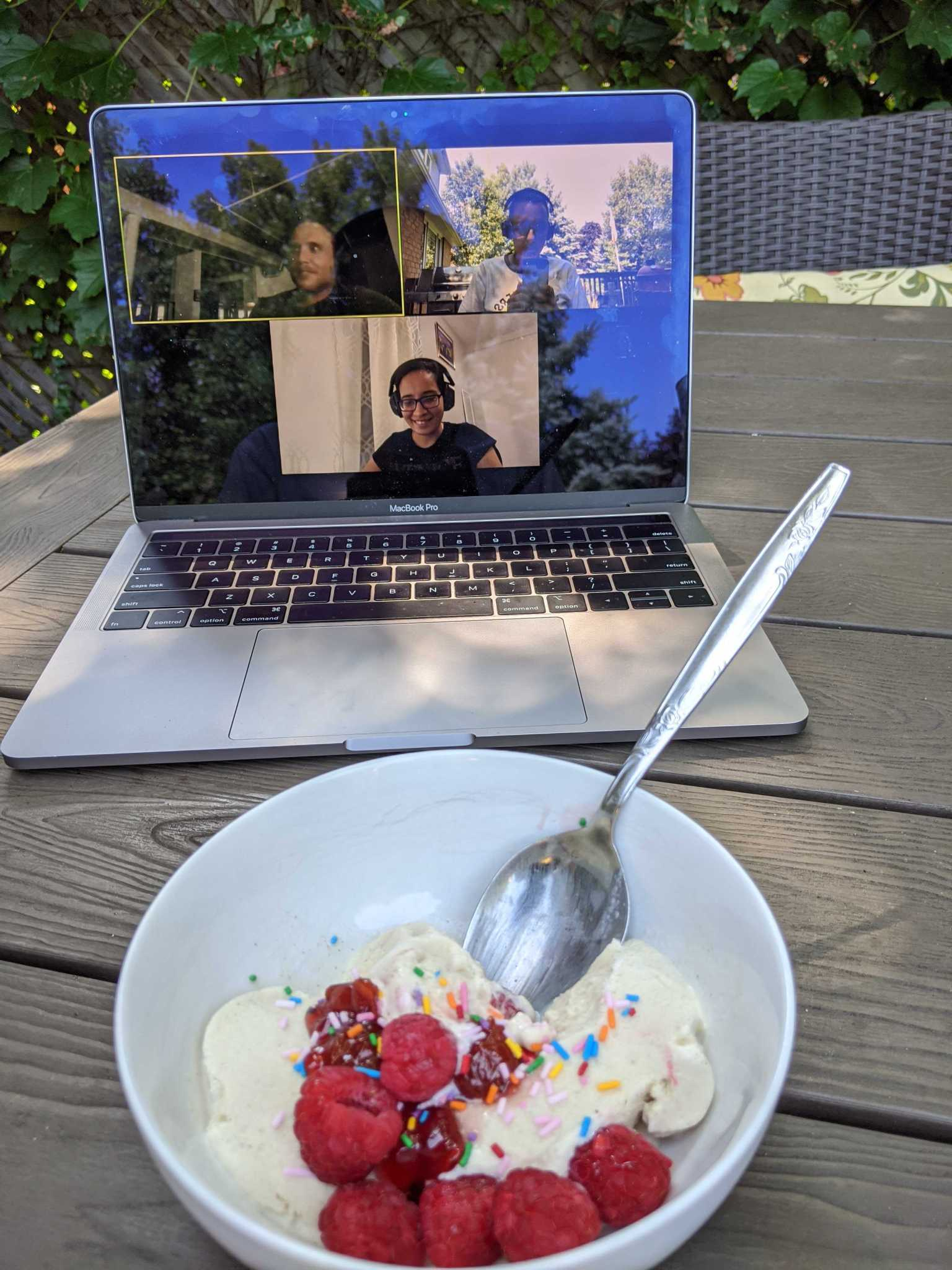virtual ice cream meetup